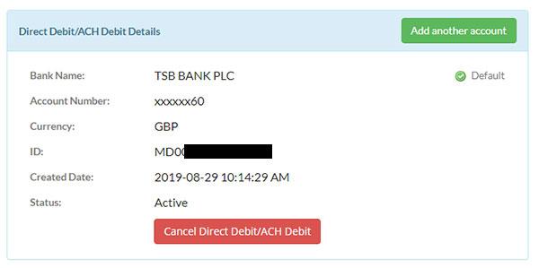 ACH Debit Payments