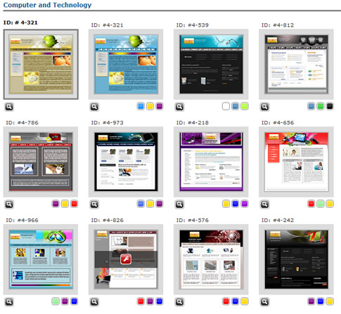 Template Website Builder. 81 best websites templates for you to ...